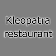 logo Kleopatra restaurant