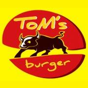logo Tom's Burger restaurant Anny Letenské
