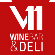 logo V11 Wine bar & deli
