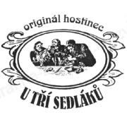 logo U Tří Sedláků České Budějovice