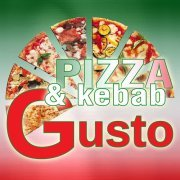 logo Gusto pizza&kebab