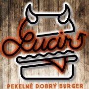 logo Lucir: Pekelně dobrý burger