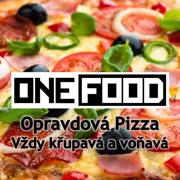logo ONEFOOD - Opravdová pizza