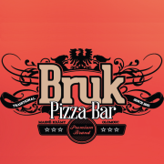 logo Bruk Pizza Bar