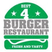 logo 4 Burger Restaurant