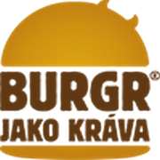 logo Burgr jako kráva - Kladno