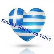 logo Kousek Řecka na talíři