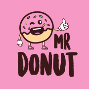 logo Mr. Donut - OC Central Kladno