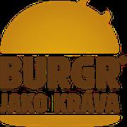 logo Burgr jako kráva - FM