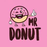 logo Mr. Donut - Galerie Vaňkova Brno