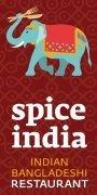 logo Spice India - denní menu