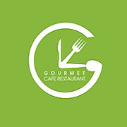 logo Gourmet cafe restaurant